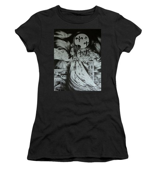Italian Fantasies. Florence Women's T-Shirt (Athletic Fit)