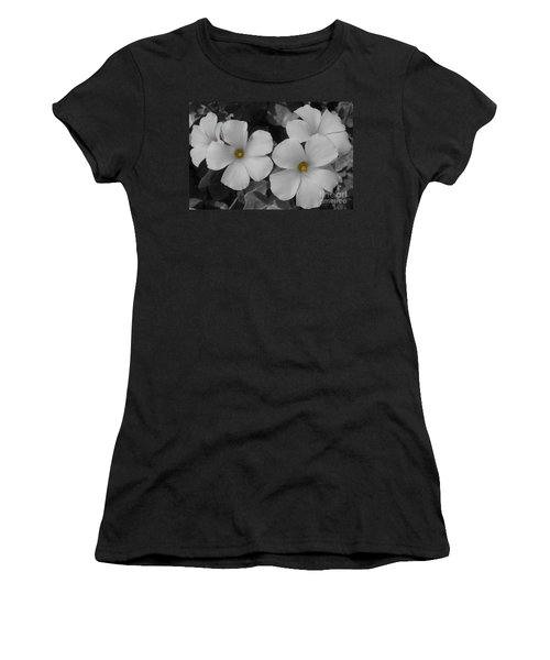 Its Not All Black And White Women's T-Shirt (Junior Cut) by Janice Westerberg