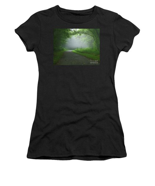 Mystery Walk Women's T-Shirt (Athletic Fit)