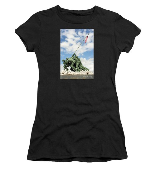 Iwo Jima Monument II Women's T-Shirt