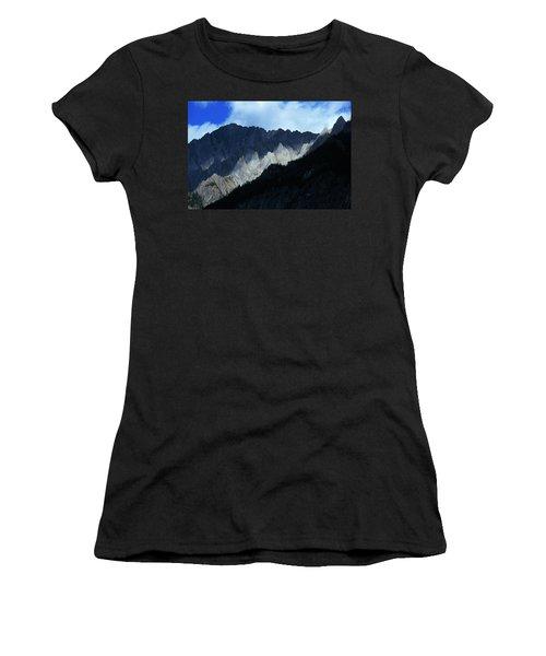 Jagged Mountains Of Banff National Women's T-Shirt