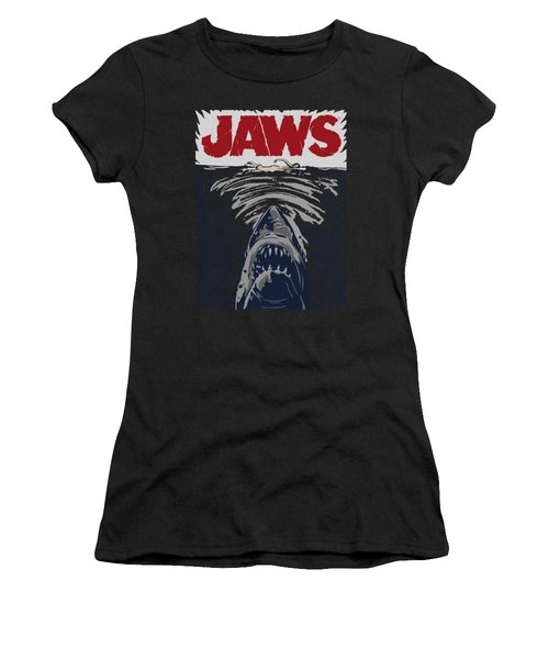 Jaws - Graphic Poster Women's T-Shirt