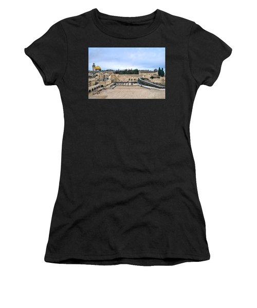 Jerusalem The Western Wall Women's T-Shirt
