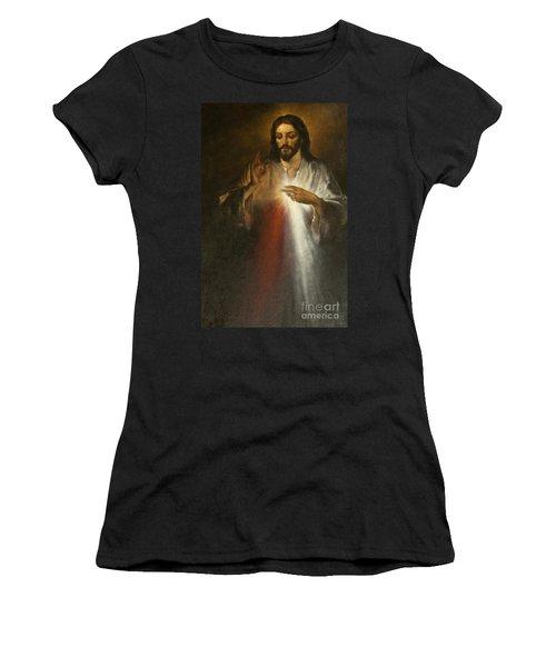 Jesus Of Divine Mercy Women's T-Shirt