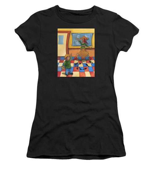 Jhonan And His Teacher  Women's T-Shirt