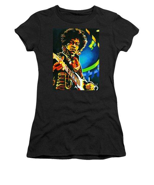 Bold As Love. Jimi Hendrix  Women's T-Shirt