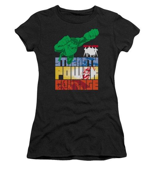 Jla - Heroic Qualities Women's T-Shirt