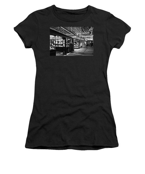 Women's T-Shirt featuring the photograph Johnson's Court / Dublin by Barry O Carroll