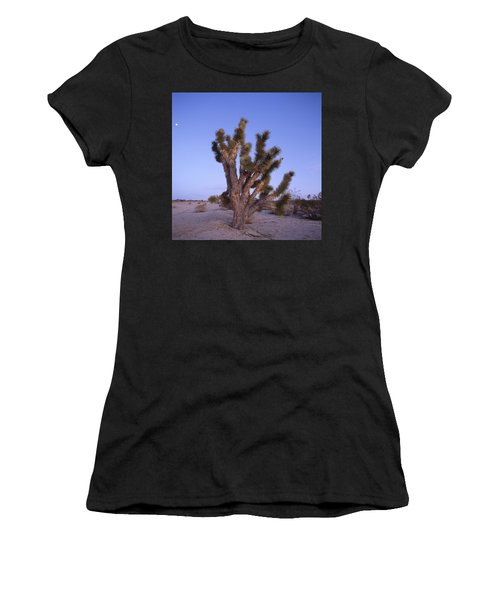 Solitude Of The Joshua Tree Women's T-Shirt (Junior Cut) by Shaun Higson