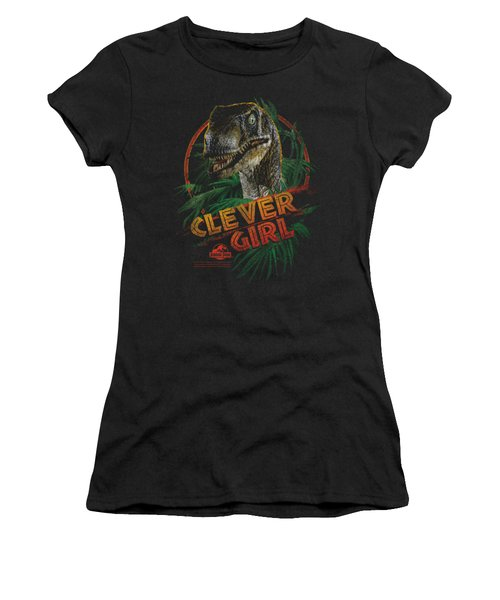 Jurassic Park - Clever Girl Women's T-Shirt (Junior Cut) by Brand A