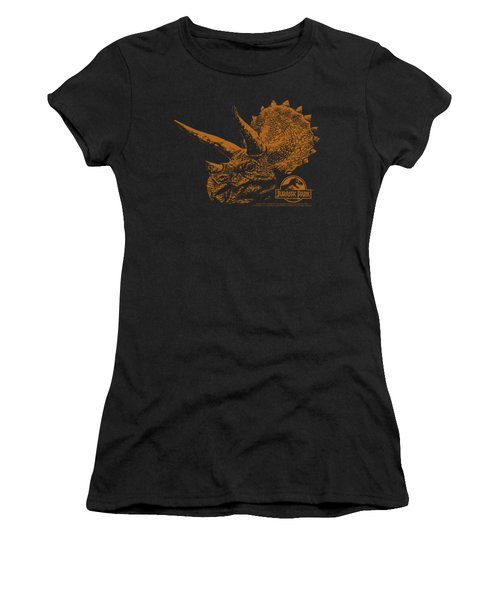 Jurassic Park - Tri Mount Women's T-Shirt