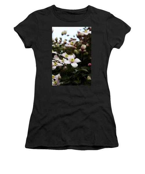 Just Flowers Women's T-Shirt (Athletic Fit)