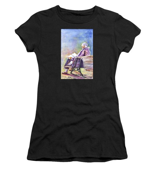 Just Passing The Time Away Women's T-Shirt (Athletic Fit)