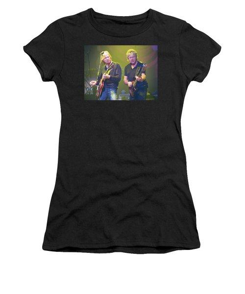 Justin Hayward And John Lodge Women's T-Shirt (Athletic Fit)