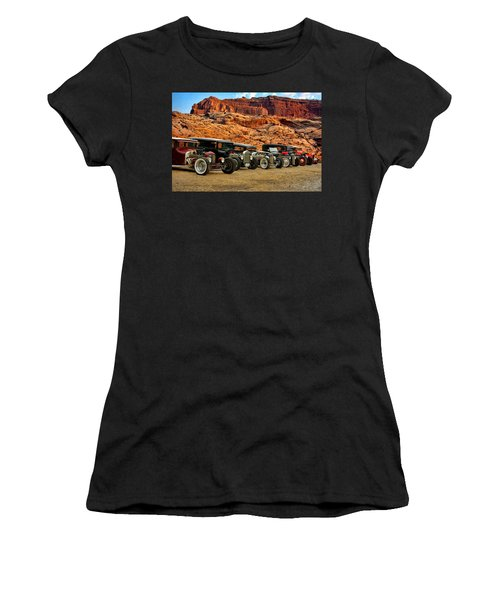 Kansas City Rat Rods And Hot Rods Women's T-Shirt (Athletic Fit)