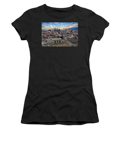 Kansas City Skyline Women's T-Shirt