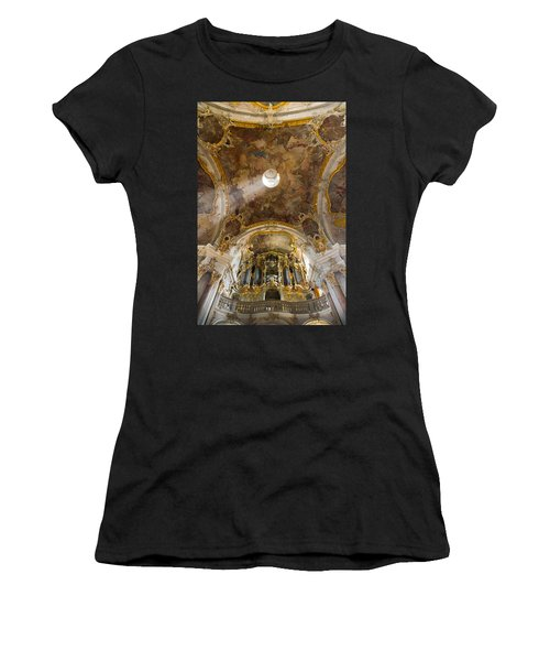Kappele Wurzburg Organ And Ceiling Women's T-Shirt (Athletic Fit)