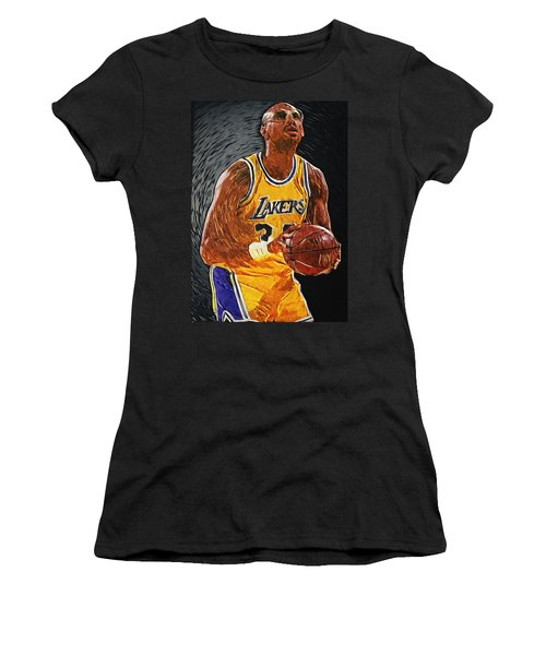 Kareem Abdul-jabbar Women's T-Shirt (Athletic Fit)
