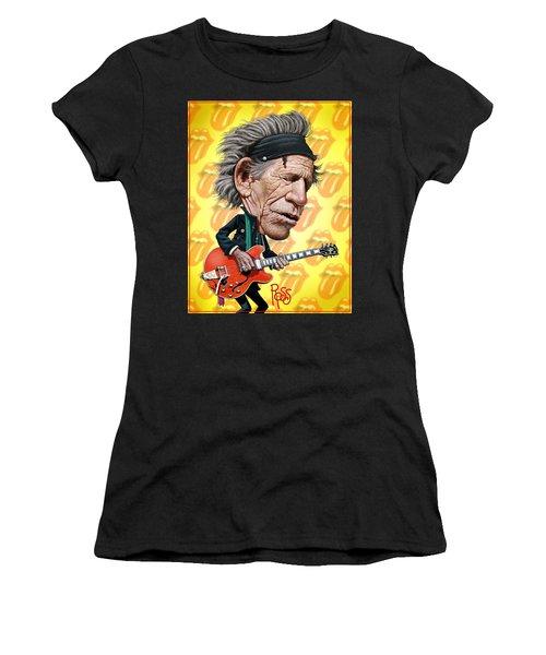 Keith Richards Women's T-Shirt