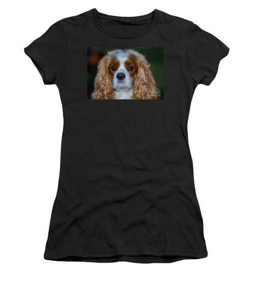 King Charles Women's T-Shirt (Athletic Fit)