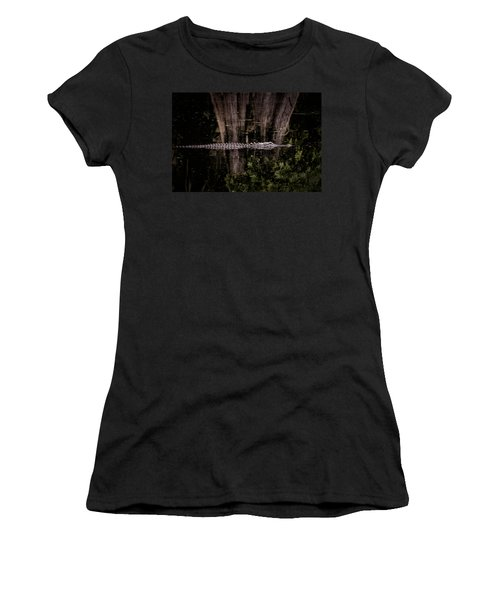 Women's T-Shirt (Athletic Fit) featuring the photograph King Of The River by Steven Sparks