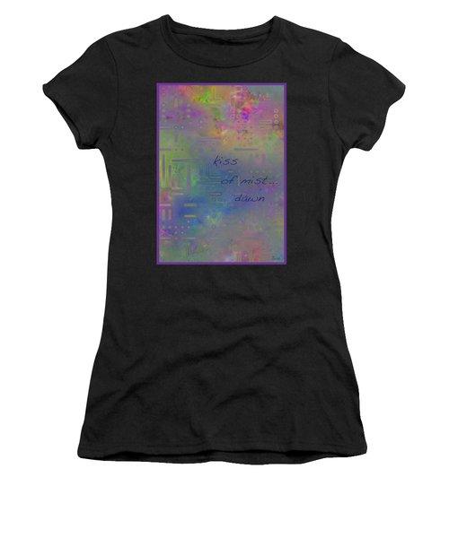 Kiss Of Mist Haiga Women's T-Shirt