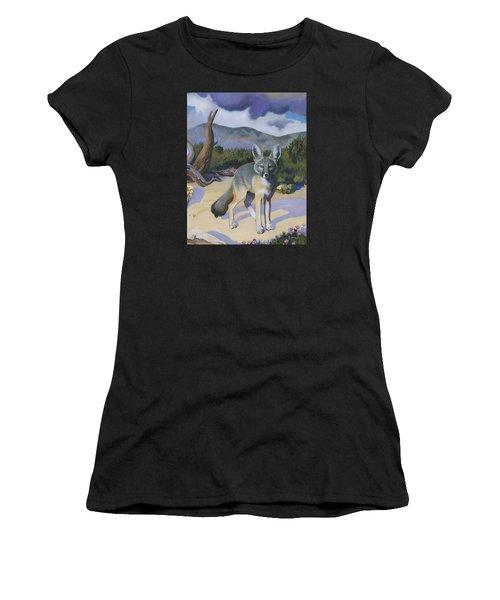 Kit Fox Women's T-Shirt (Athletic Fit)