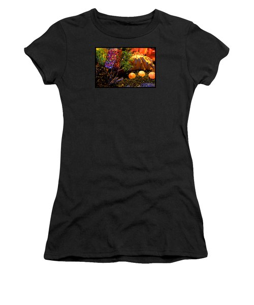 Kiva Mountain Eco Medicinals Women's T-Shirt (Junior Cut) by Susanne Still