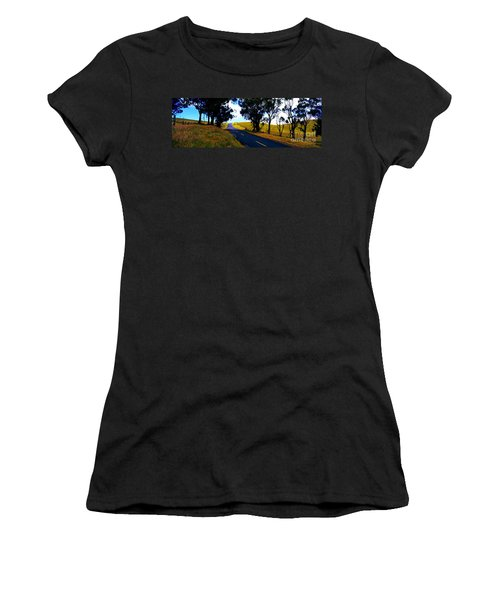 Kohala Mountain Road  Big Island Hawaii  Women's T-Shirt (Athletic Fit)