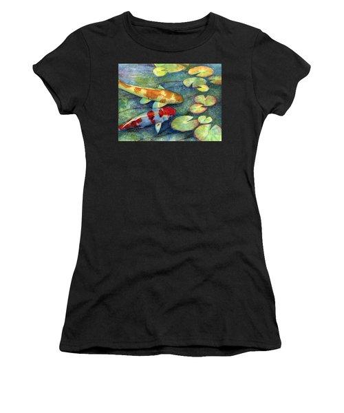 Koi Garden Women's T-Shirt