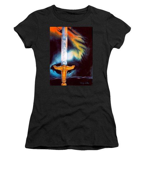 Kyle's Sword Women's T-Shirt (Athletic Fit)