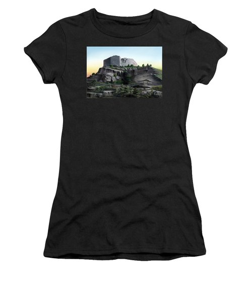 La Rocca De Monte Calvo Women's T-Shirt (Junior Cut) by Albert Puskaric