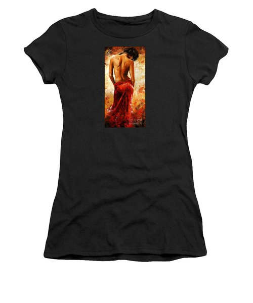 Lady In Red 27 Women's T-Shirt (Athletic Fit)