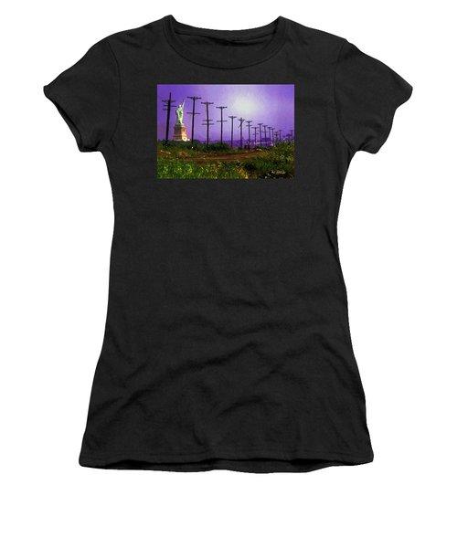 Lady Liberty Lost Women's T-Shirt