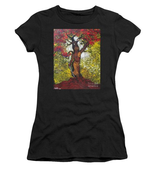 Lady Of Justice Women's T-Shirt