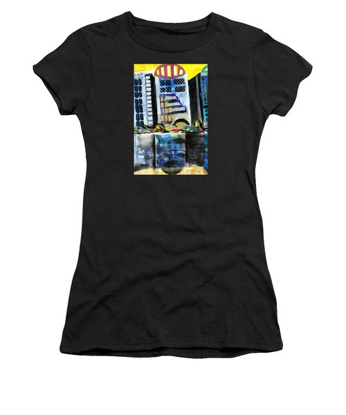 Lake Eola - Part 1 Of 3 Women's T-Shirt (Athletic Fit)
