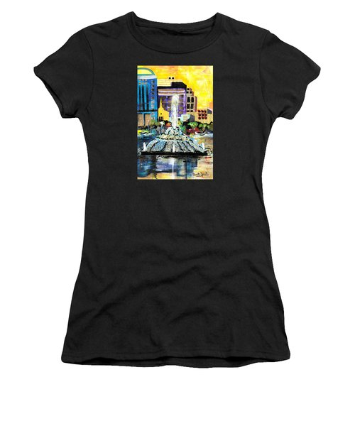 Lake Eola - Part 2 Of 3 Women's T-Shirt (Athletic Fit)