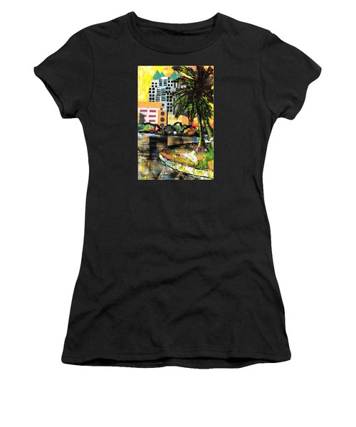 Lake Eola - Part 3 Of 3 Women's T-Shirt (Athletic Fit)