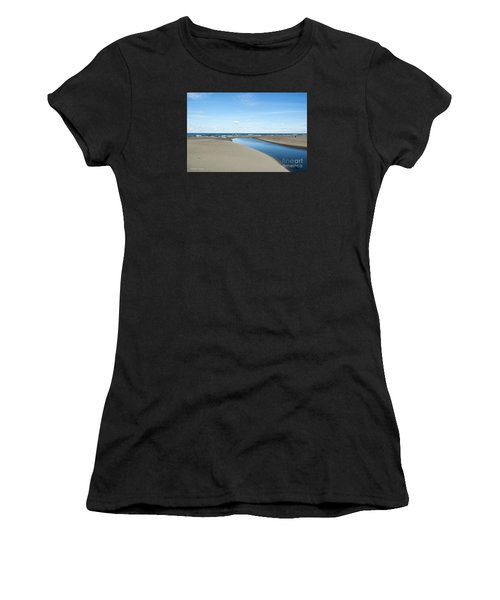 Lake Michigan Waterway  Women's T-Shirt (Athletic Fit)