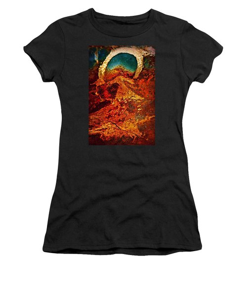 Lake Of Lava Women's T-Shirt (Athletic Fit)