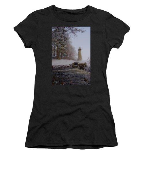 Lake Potanipo Lighthouse Women's T-Shirt (Athletic Fit)