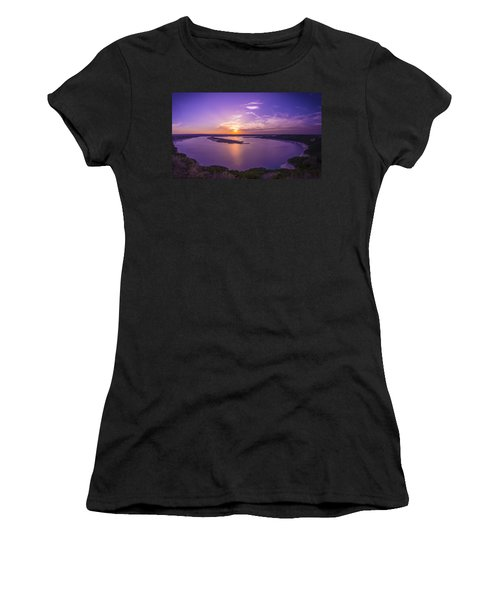 Lake Travis Sunset Women's T-Shirt (Athletic Fit)
