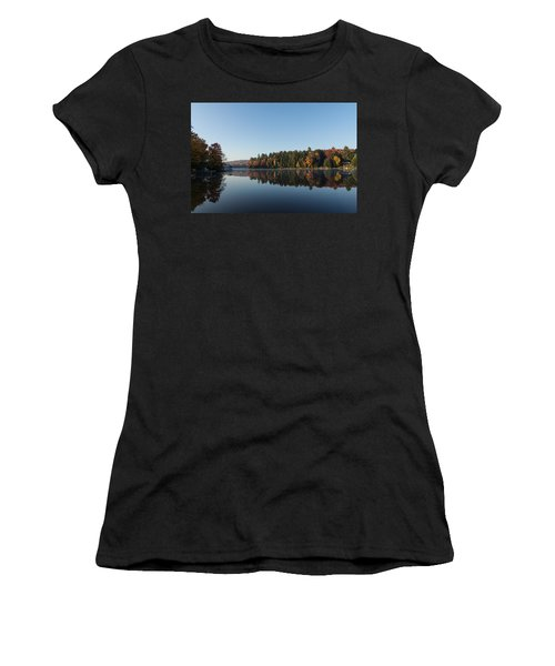Lakeside Cottage Living - Peaceful Morning Mirror Women's T-Shirt