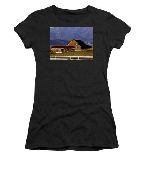 Lakeville Barn Women's T-Shirt (Athletic Fit)