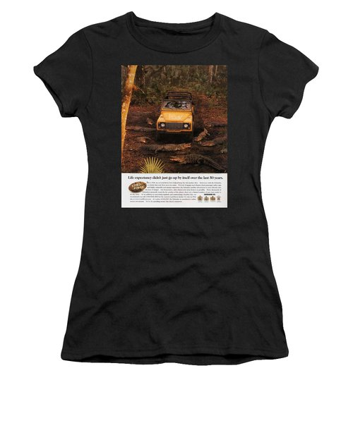 Land Rover Defender 90 Ad Women's T-Shirt