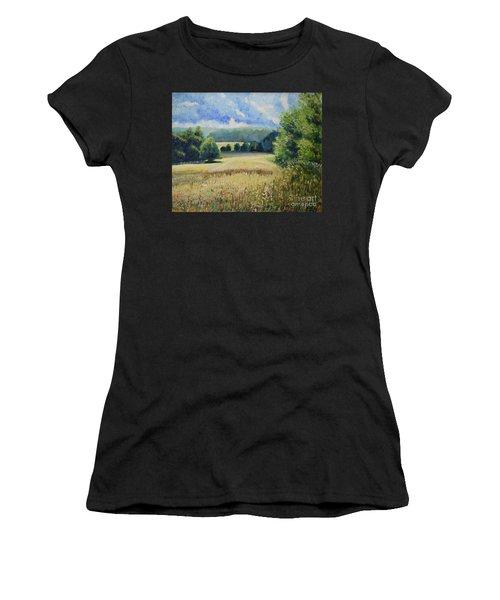Landscape Near Russian Border Women's T-Shirt
