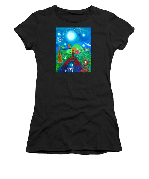 Landscape Of Ancient Dreams Women's T-Shirt