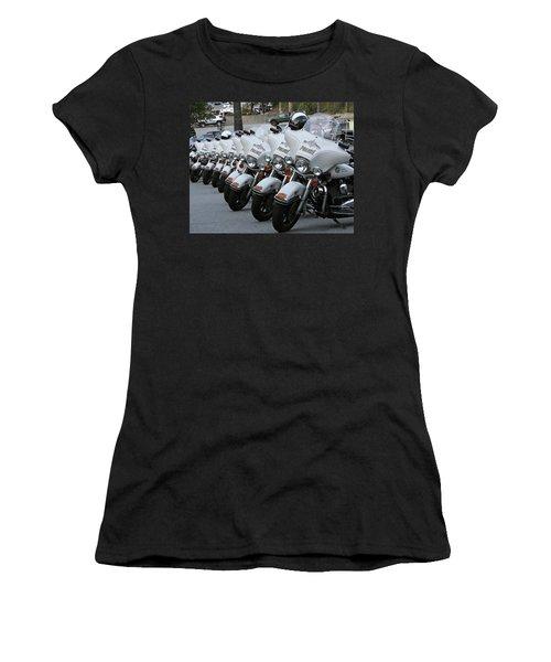 Women's T-Shirt (Junior Cut) featuring the photograph La's Finest by Shoal Hollingsworth