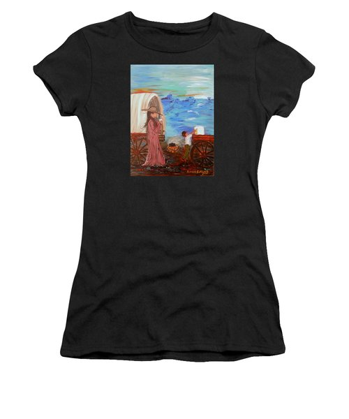 Last Treat Of The Night Women's T-Shirt (Athletic Fit)