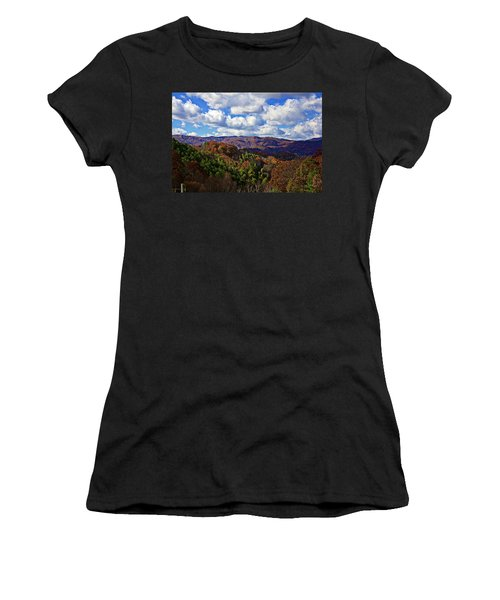 Late Autumn Beauty Women's T-Shirt (Athletic Fit)